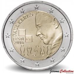 ESTONIE - PIECE de 2 Euro - Paul Keres - 2018 Km#new