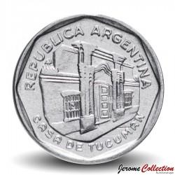 ARGENTINE - PIECE de 5 Australes - Casa de Tucumán - 1989