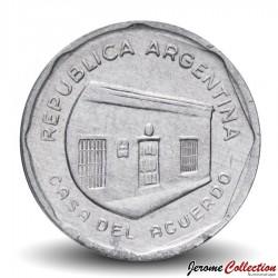 ARGENTINE - PIECE de 10 Australes - Casa del Acuerdo - 1989
