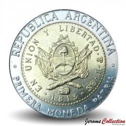 ARGENTINE - PIECE de 1 Peso - Bimétal - 2010