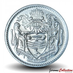 GUYANA - PIECE de 10 Cents - Oiseau Hoatzin - 1992