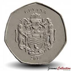 GUYANA - PIECE de 10 Dollars - Chercheur d'or - 2011