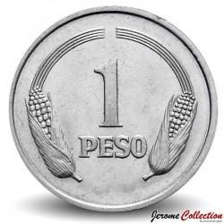 COLOMBIE - PIECE de 1 Peso - Simon Bolivar - 1980
