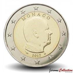 MONACO - PIECE de 2 Euro - Albert II - 2017 Km#195