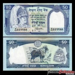 NEPAL - Billet de 50 Roupies - Jharal - 1995 P33c1