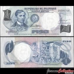 PHILIPPINES - Billet de 1 Piso - Jose Rizal - 1969 P142a