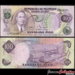 PHILIPPINES - Billet de 100 Piso - Manuel Roxas - 1978 P164b