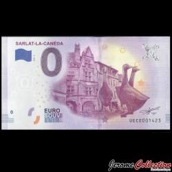BILLET TOURISTIQUE - ZERO 0 EURO - FRANCE - SARLAT La Canéda - 2019 UEME - 2019-3