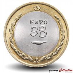PORTUGAL - PIECE de 200 Escudos - Bimétal - Exposition mondiale de Lisbonne 1998 - 1998 Km#706