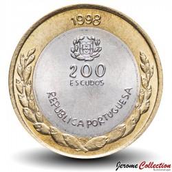 PORTUGAL - PIECE de 200 Escudos - Bimétal - Exposition mondiale de Lisbonne 1998 - 1998