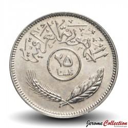 IRAK - PIECE de 25 Fils - Cocotiers - 1981 Km#127