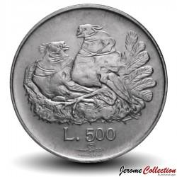 SAINT-MARIN - PIECE de 500 Lires (Argent) - 1974 Km#37