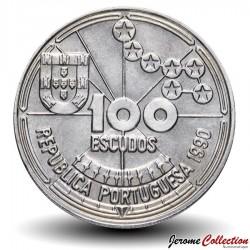 PORTUGAL - PIECE de 100 Escudos - Navigation Astronomique - 1990