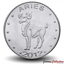 SOMALILAND - PIECE de 10 Shillings - Signe du Zodiaque - Le Bélier - 2012 Km#new