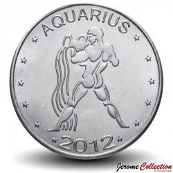 SOMALILAND - PIECE de 10 Shillings - Signe du Zodiaque - Verseau - 2012 Km#new