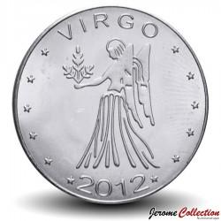 SOMALILAND - PIECE de 10 Shillings - Signe du Zodiaque - Vierge - 2012 Km#new