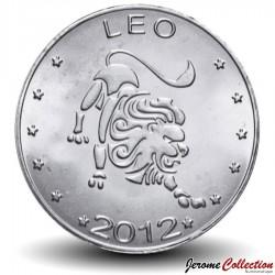 SOMALILAND - PIECE de 10 Shillings - Signe du Zodiaque - Lion- 2012 Km#new