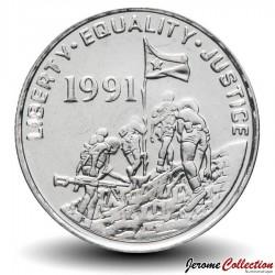 ERYTHREE - PIECE de 5 Cents - Gazelle à front roux - 1997