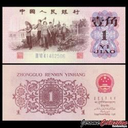 CHINE - BILLET de 1 Yuan - Ouvriers - 1962 P877d