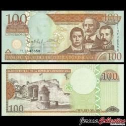 REPUBLIQUE DOMINICAINE - Billet de 100 PESOS ORO - Puerta del Conde - 2009 P177b