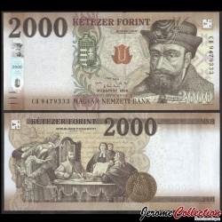 HONGRIE - Billet de 2000 Forint - 2020 P204b
