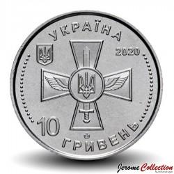 UKRAINE - PIECE de 10 Hryven - Air Force of Ukraine - 2020