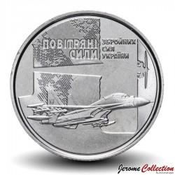 UKRAINE - PIECE de 10 Hryven - Air Force of Ukraine - 2020 Km#NEW