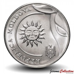 MOLDAVIE - PIECE de 2 Lei - Soleil - 2020