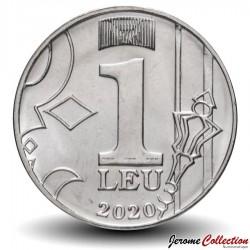 MOLDAVIE - PIECE de 1 Leu - Lune - 2020
