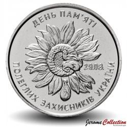UKRAINE - PIECE de 10 Hryven - Jour du souvenir - 2020 Km#NEW