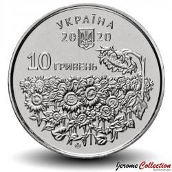 UKRAINE - PIECE de 10 Hryven - Jour du souvenir - 2020