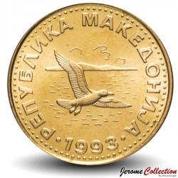 MACEDOINE DU NORD - PIECE de 50 DENI - Mouette Rieuse - 1993 Km#1