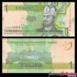 TURKMENISTAN - Billet de 1 Manat - 2009 P22a