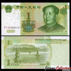 CHINE - BILLET de 1 Yuan - 1999 P895a