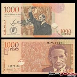 COLOMBIE - Billet de 1000 Pesos - Jorge Eliecer Gaitán - 2002 P450d