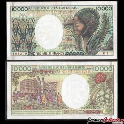 CENTRAFRIQUE - Billet de 10000 Francs - 1983 P13a2
