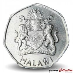 MALAWI - PIECE de 5 kwacha - Héron Pourpre  - 2012