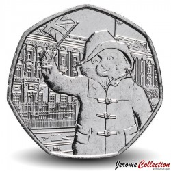 ROYAUME UNI - PIECE de 50 Cents - Paddington au palais de Buckingham - 2018 Sp#H50