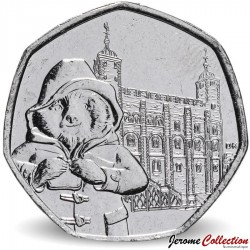 ROYAUME UNI - PIECE de 50 Cents - Paddington à la Tour de Londres - 2019 Sp#H66