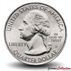ETATS UNIS / USA - PIECE de 25 Cents - America the Beautiful - Fort McHenry - 2013 - D