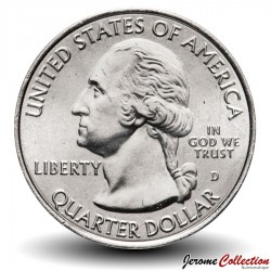 ETATS UNIS / USA - PIECE de 25 Cents - America the Beautiful - Fort McHenry - Maryland - 2013 - D