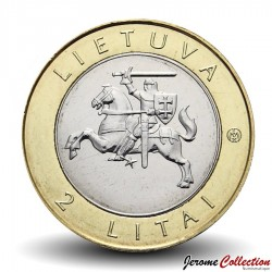 LITUANIE - PIECE de 2 Litai - Distaff - 2013