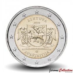 LITUANIE - PIECE de 2 Euro - La région de Haute Lituanie (Aukštaitija) - 2020 Km#new