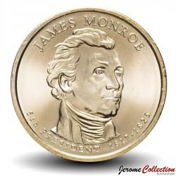 ETATS UNIS / USA - PIECE de 1 Dollar - Séries Présidents: James Monroe - 2008 - P Km#426