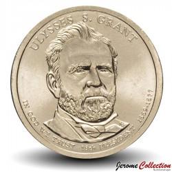 ETATS UNIS / USA - PIECE de 1 Dollar (Série Président) - Ulysses S. Grant - 2011 - D Km#500