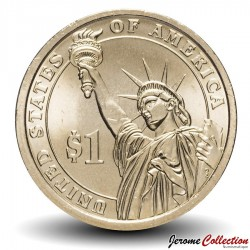 ETATS UNIS / USA - PIECE de 1 Dollar (Série Président) - James Abram Garfield - 2011 - D