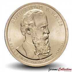 ETATS UNIS / USA - PIECE de 1 Dollar (Série Président) - Rutherford B. Hayes - 2011 - D Km#501