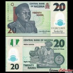 NIGERIA - Billet de 20 Naira - Polymer - 2019 P34o