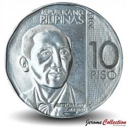 PHILIPPINES - PIECE de 10 Piso - Apolinario Mabini - 2018 Km#303
