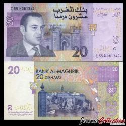 MAROC - Billet de 20 DIRHAMS - Porte Bab Chellah (Rabbat) - 2005 P68a